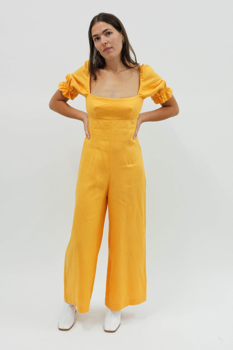 Ruby Jumpsuit - Yellow