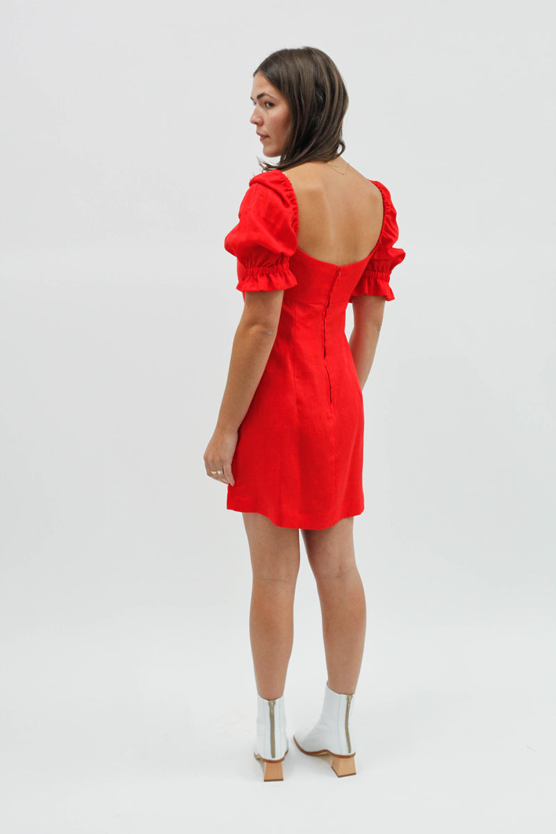 Ruby Mini Dress - Red