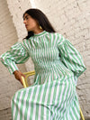 Smock Dress - Kelly Green