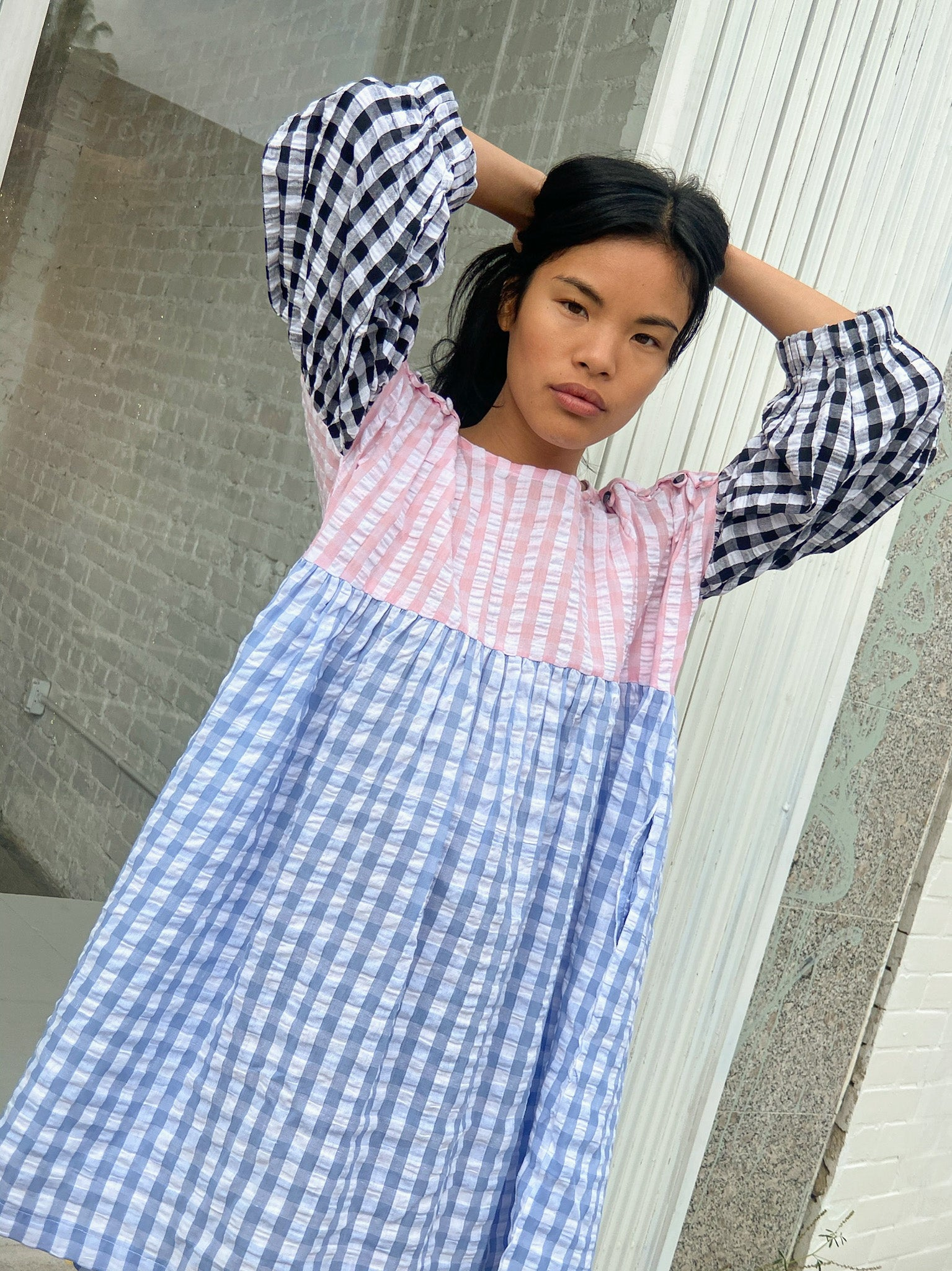 Catarina Dress - Gingham