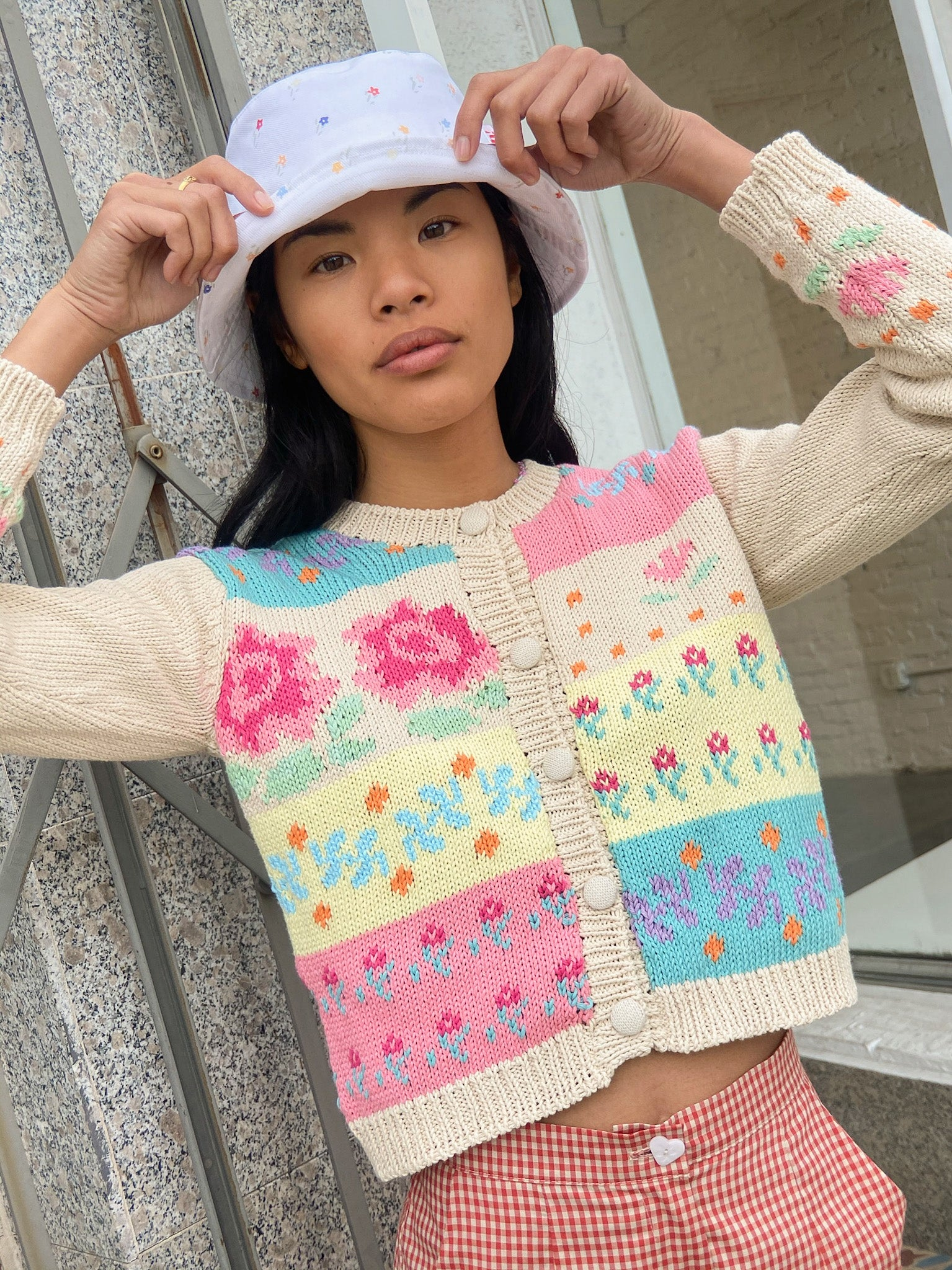 Prisca Sweater - Floral