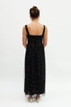 Verbena Pearl Dress - Black