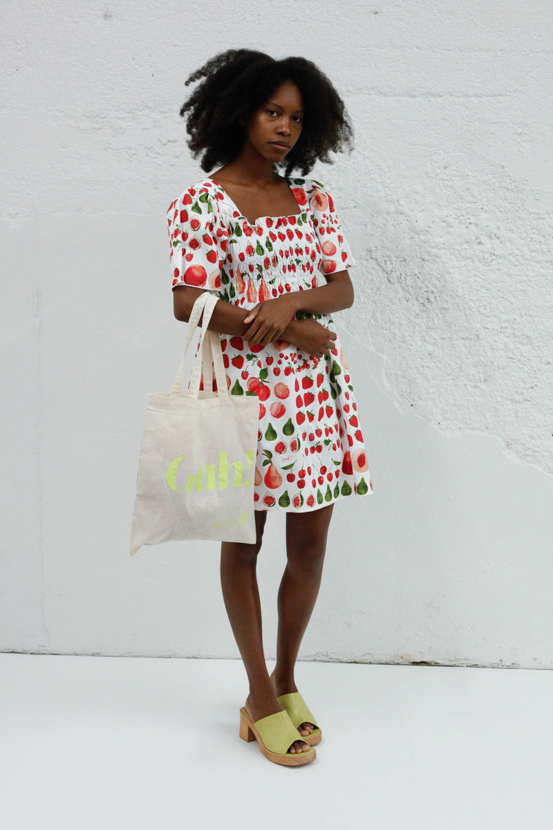 Toni Dress - Fruit Print