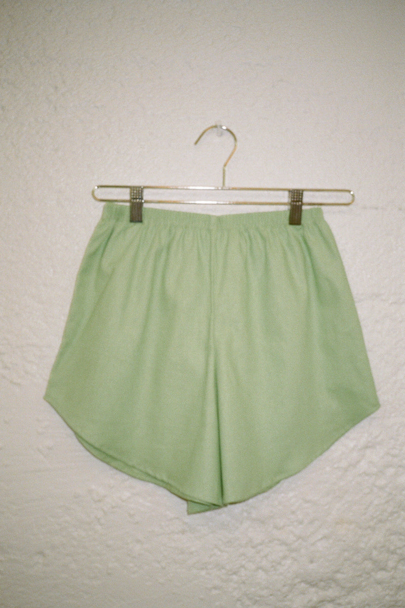 Capri Linen Short - Willow