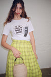 Calling on Behalf of Fashion T-Shirt - White