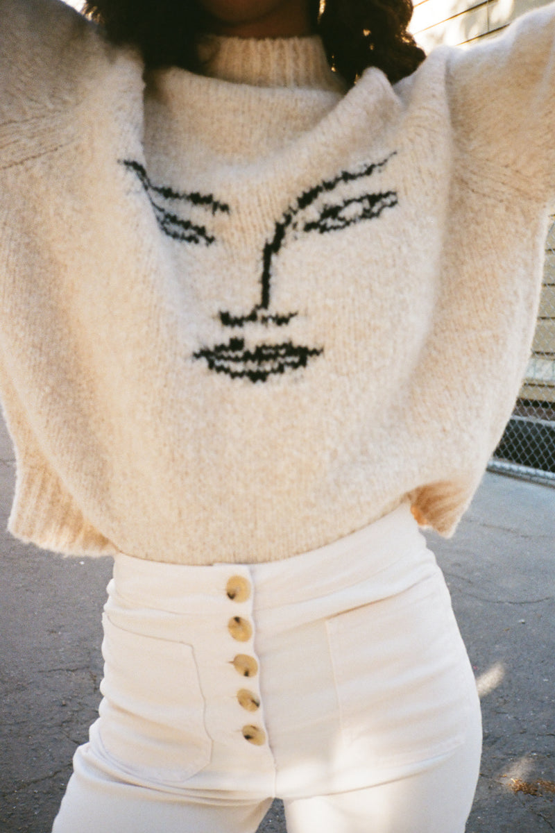 Pieiro Sweater - White