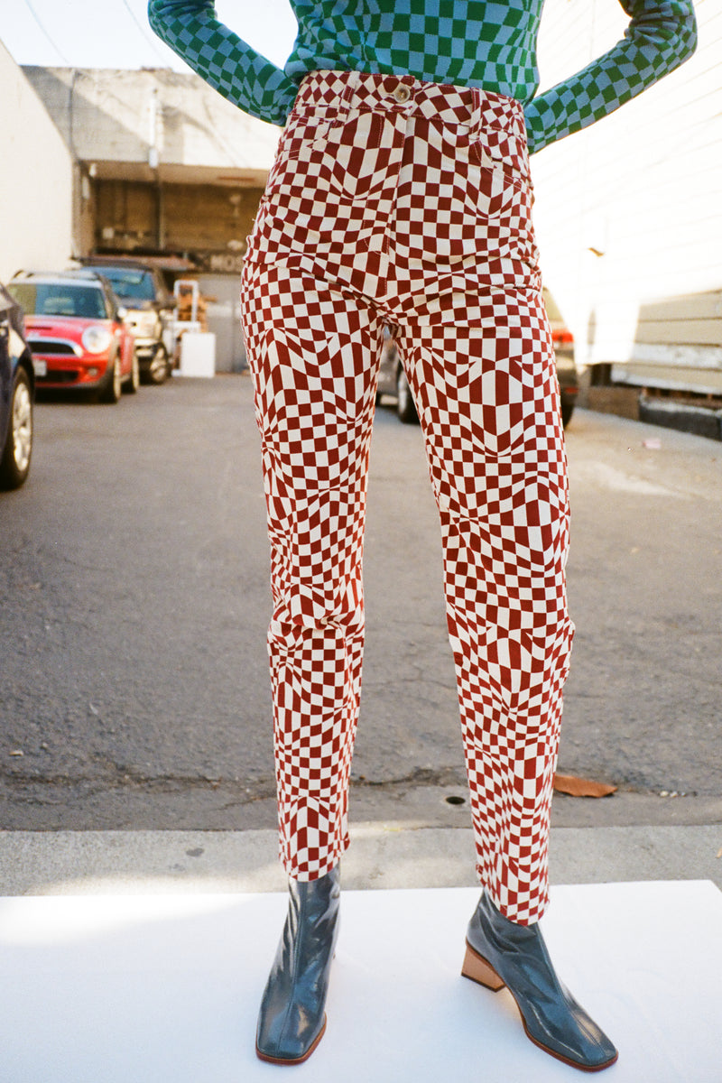 Realmonte Pant - Check