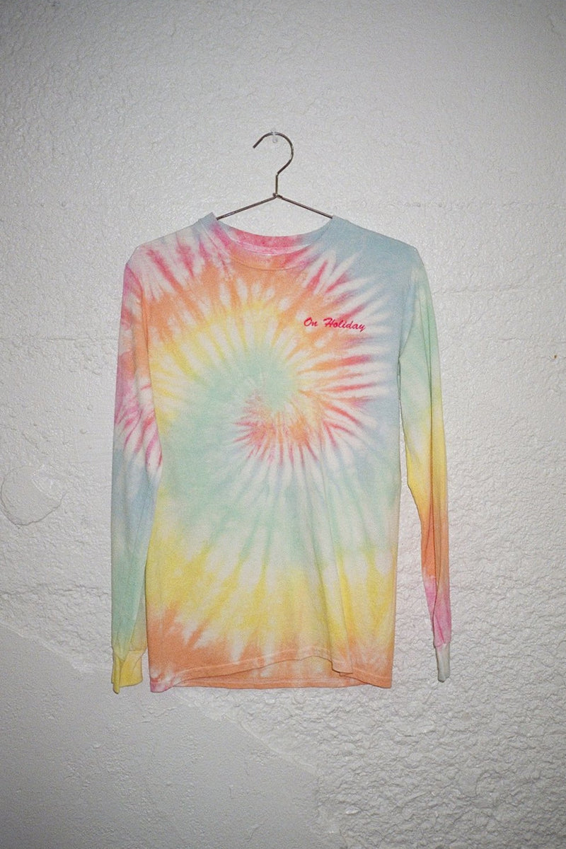 On Holiday Tie-Dye L/S T-Shirt - Multi