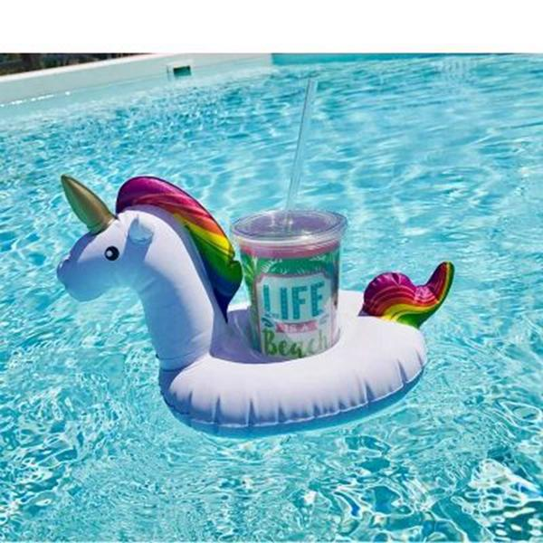 Unicorn Swimming Cup Holder