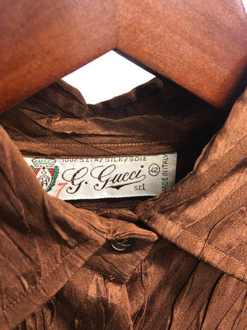 Vintage Gucci Silk Shirt