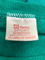 "Vintage Worn not wasted ""Hanes sport"" pullover"