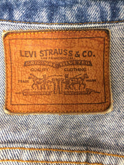 "Vintage ""Leather Tab"" Made in USA Levi's Jean Jacket"