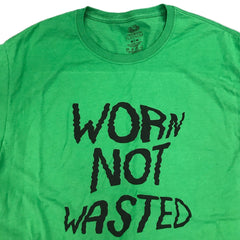 "Worn not wasted ""toxic waste"" classic tee"