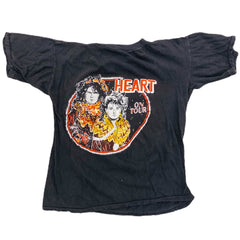 Vintage 1980s Heart Band Tee