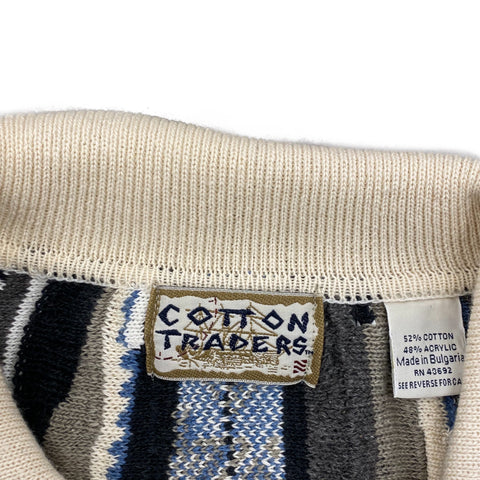 Vintage Cotton Trader *Coogi-Like* Sweater