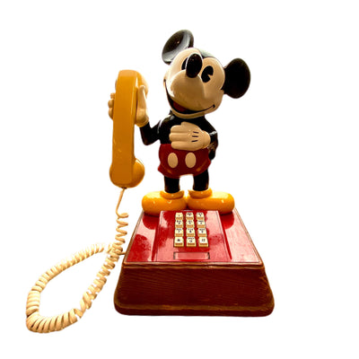 Vintage 1976 Mickey Mouse Telephone
