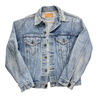 Vintage Light Wash Levi Strauss Denim Jacket