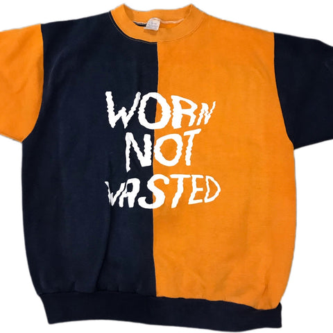 Vintage Worn Not Wasted Two-Tone Sweater Tee