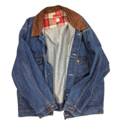 "Vintage Marlboro ""Country Store"" Denim Trucker Jacket"