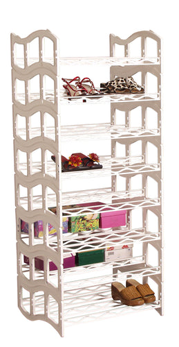 MS44 Solemate® Stacking Shoe Rack -48 pair - Designed in USA/Made in USA