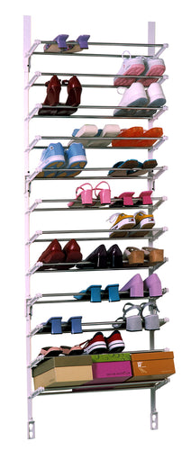 MS2 Over The Door Shoe Rack –  Designed in USA/Made in USA