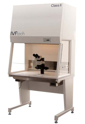 IVFtech Class II cabinet with scope