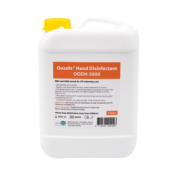 Oosafe® Hand Disinfectant 5L Refill - IVFSynergy