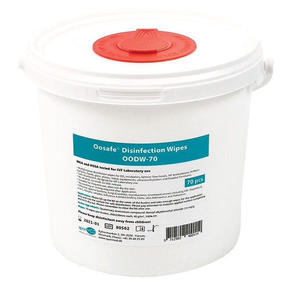 Oosafe® Laboratory Disinfectant Wipes - IVFSynergy