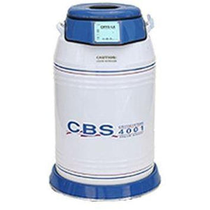 CBS - 4001 (4000 2 ml vials capacity) Value Added Dewar - IVFSynergy