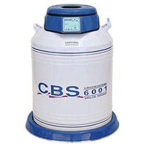CBS - 6001 (6000 2ml vials capacity) Value Added Dewar - IVFSynergy