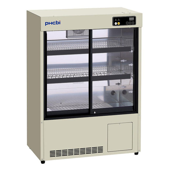 PHCBi - MPR -S163-PE Laboratory Glass Fronted Pharmaceutical Fridge - IVFSynergy