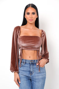 Heather Top - Rose Gold