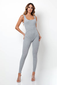 Sophisticated Jumpsuit - Gray