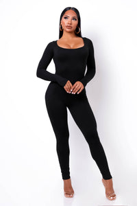 Unforgettable Jumpsuit - Black