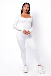 Unforgettable Jumpsuit - White