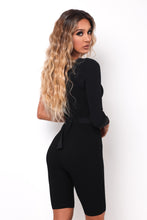 Bad At Love Romper - Black