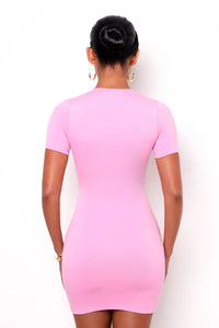 Gitano Mini Dress - Pink