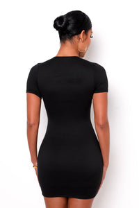 Gitano Mini Dress - Black