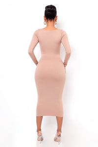 Unforgettable Midi Dress - Mocha