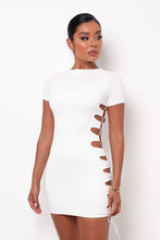 Lola Two Piece Skirt Set - White
