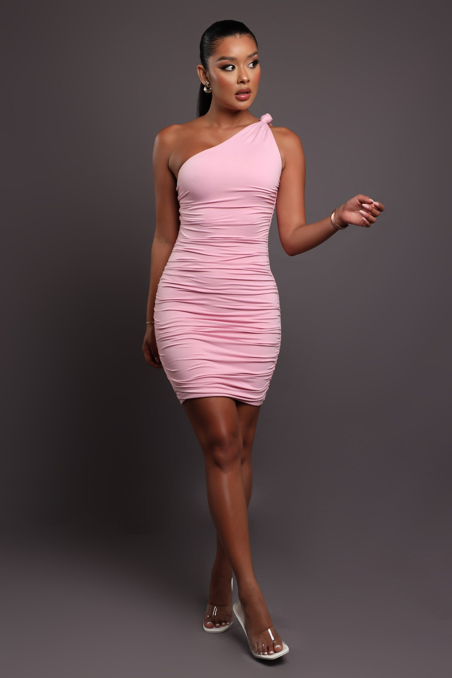 Sparks Fly Two Piece Pant Set - Black