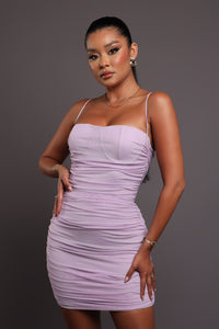Ariana Midi Dress - Red