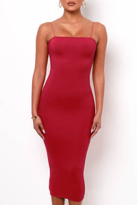 First Date Midi Dress - Red