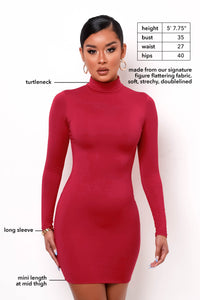 Vital Mini Dress - Red