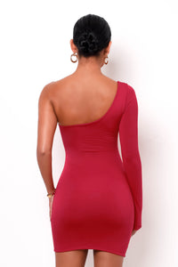Maya Mini Dress - Red