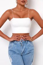 First Date Crop Top - White