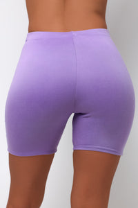 Elemental Biker Shorts - Purple