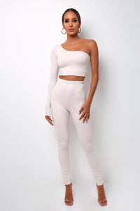Elemental Long Pants - Ivory