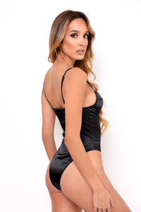 Invite Only Bodysuit - Black