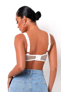 Cool Girl Top - White